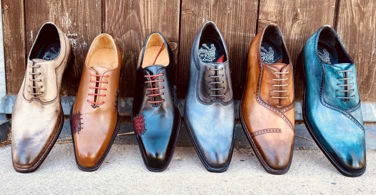 Scarpe artigianali camarri